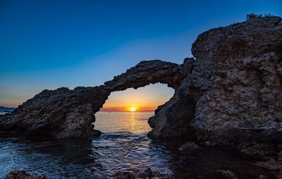 Фото бесплатно природа, Испания, арка