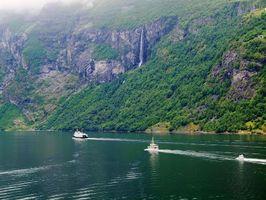 Фото бесплатно Гейрангер, пейзаж, горы