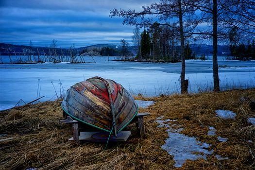 Заставки Sweden, лед, Nyadal