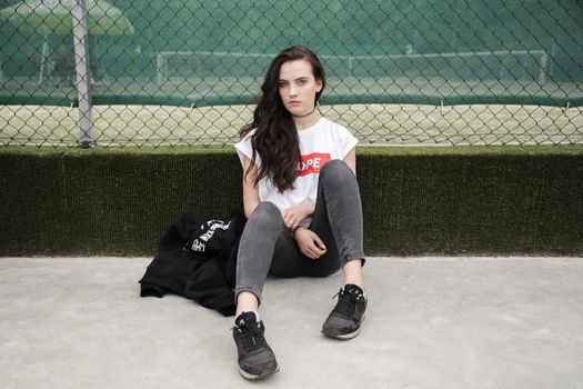 Фото бесплатно девушка, женщина, нога