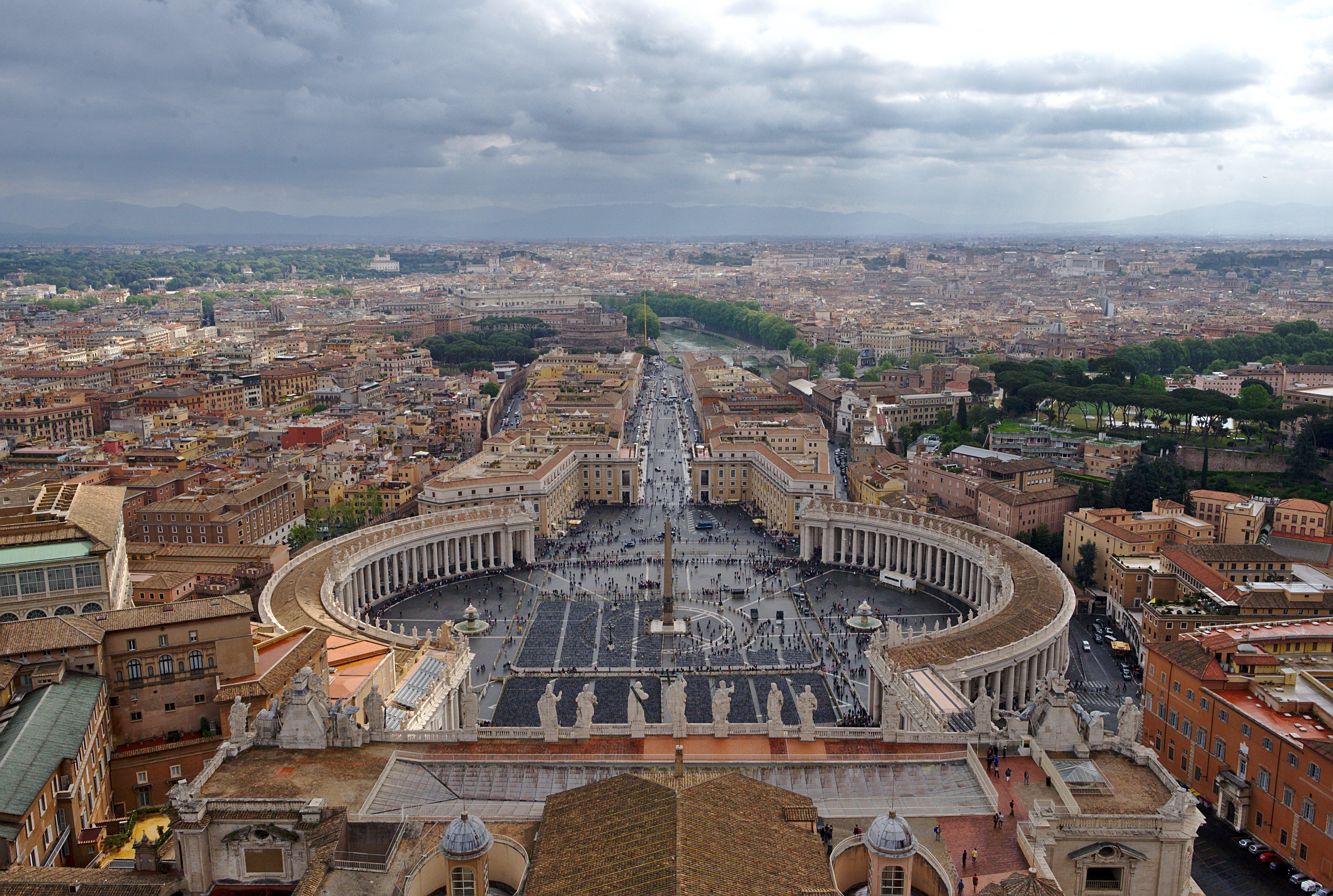 Рим, Ватикан, город