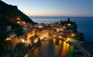 Скачать фотографию чинкве-терре, италия