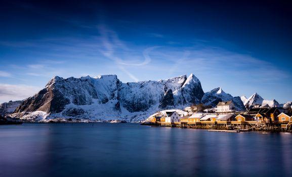 Фото бесплатно горы Норвегии, горы, природа