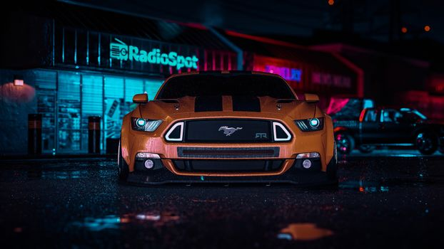 Photo free Need for Speed, Ford Mustang, cars