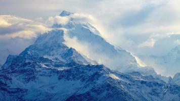 Бесплатные фото фотография,горы,снег,пейзаж,гора Эверест,облака,photography