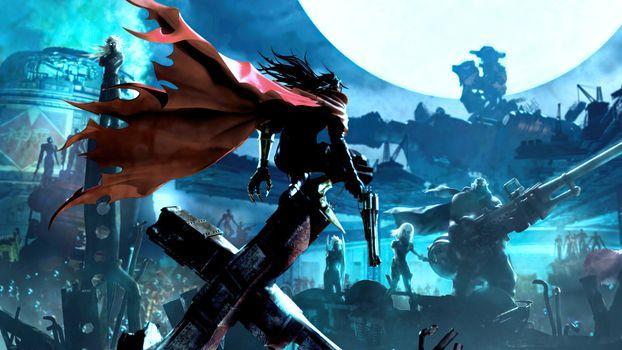 Фото бесплатно Final Fantasy, игры, Vincent Valentine