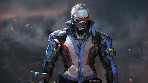 Photo free overview, Soldier 76, 2021 games