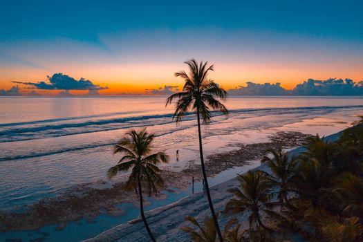 Фото бесплатно Мальдивы, восход, живописный вид