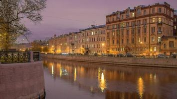 Обои The Moyka River, St Petersburg