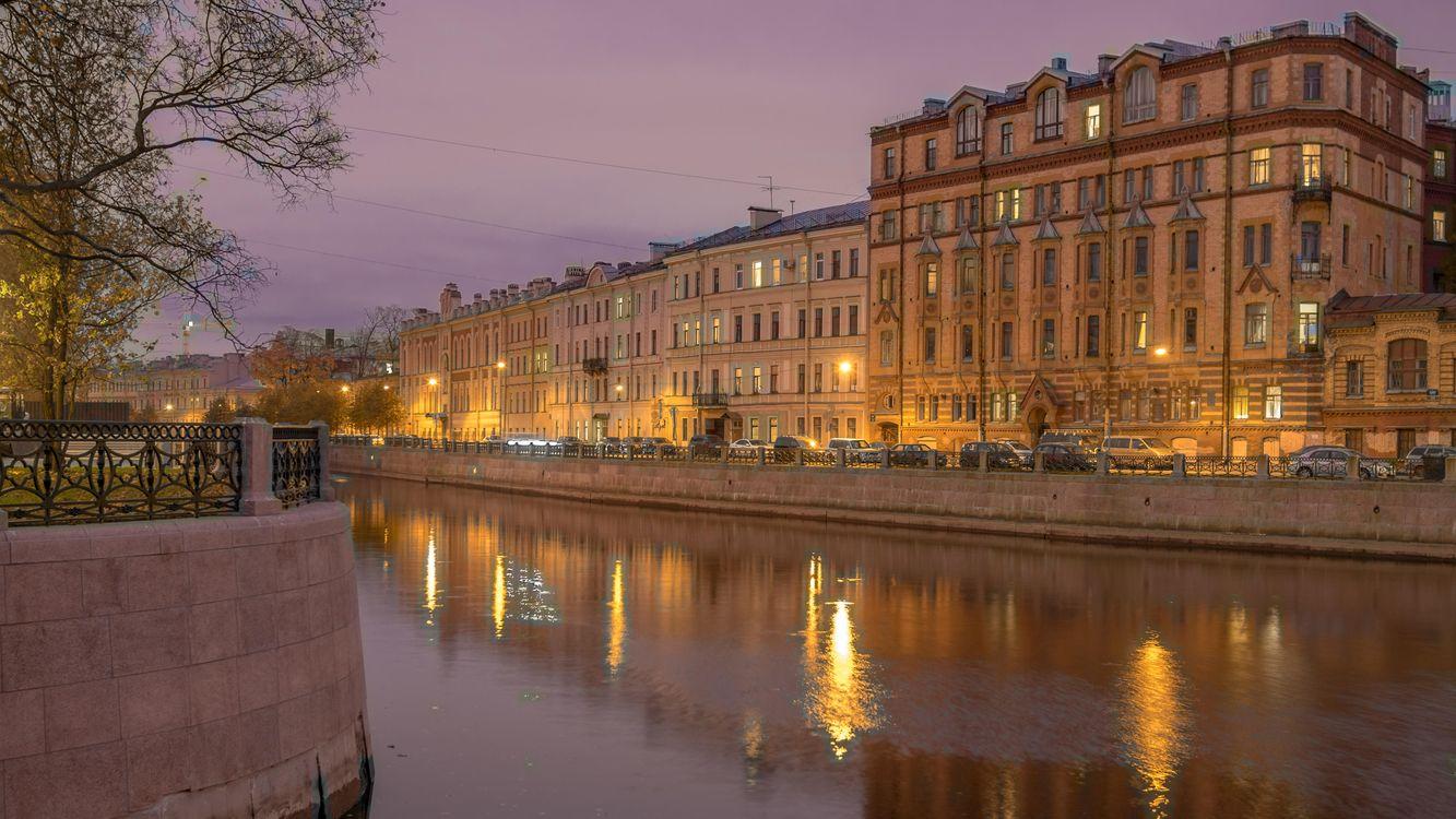 Фото бесплатно The Moyka River, St Petersburg, город
