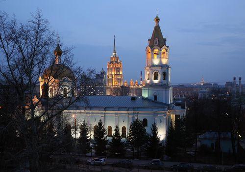Фото бесплатно Храм Святителя Николая в Трех горах, Москва, Россия