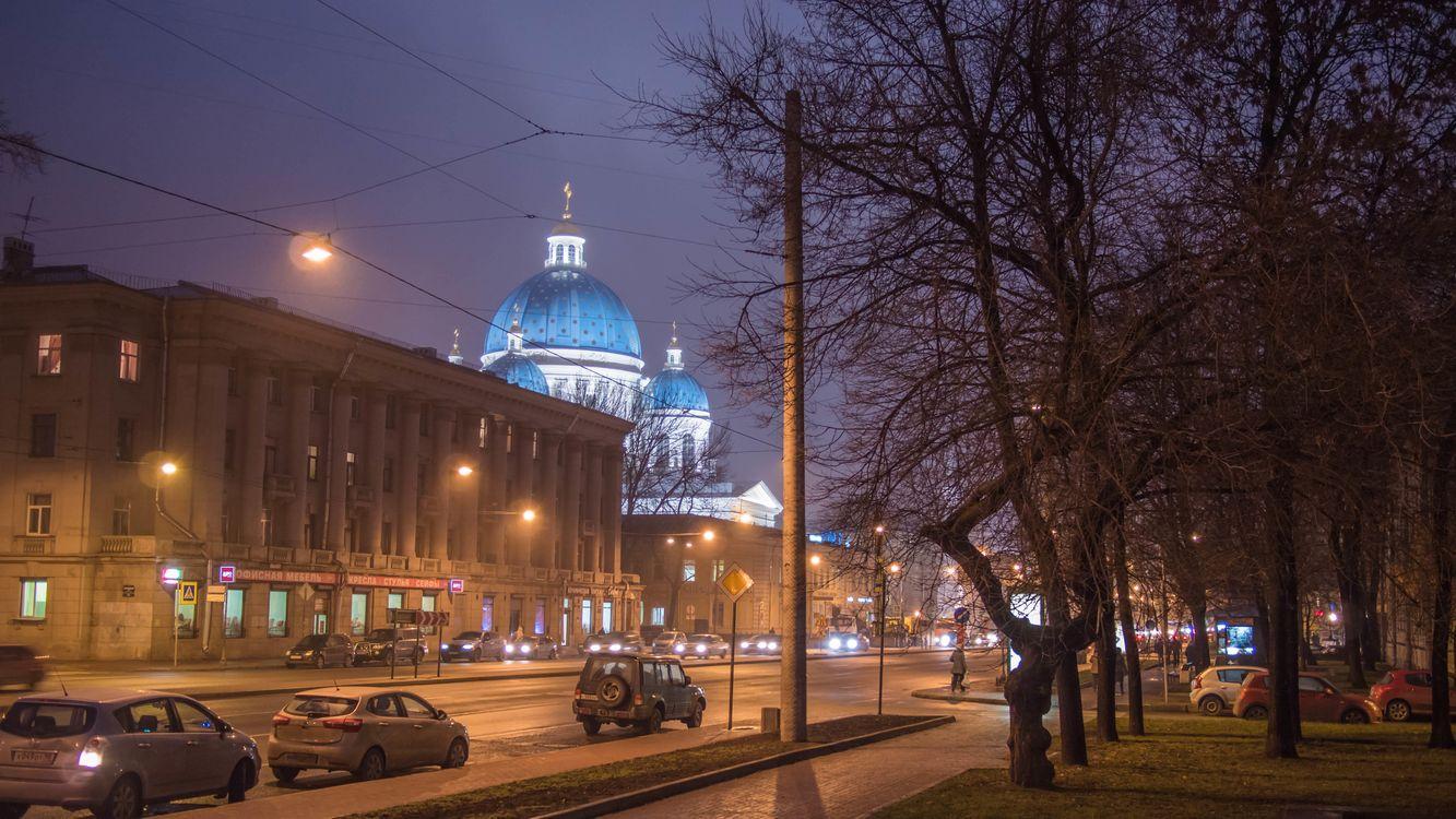Фото бесплатно Trinity cathedral, Saint-Petersburg, город