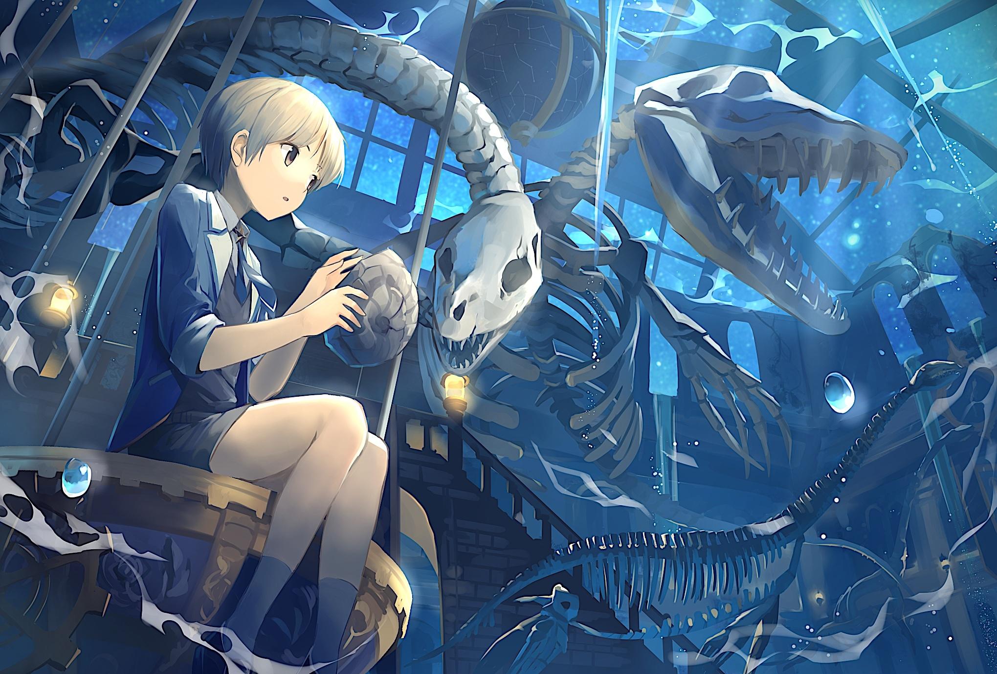 O que falta para Tayuya e Kimimaro...? Anime-boy-skeleton-sky-stars