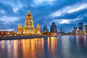 Бесплатные фото Гостиница Рэдиссон,Москва,Россия