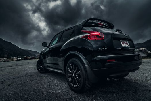 Photo free dark weather, Nissan Juke, off-road