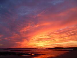 Фото бесплатно природная красота, послесвечение, закат