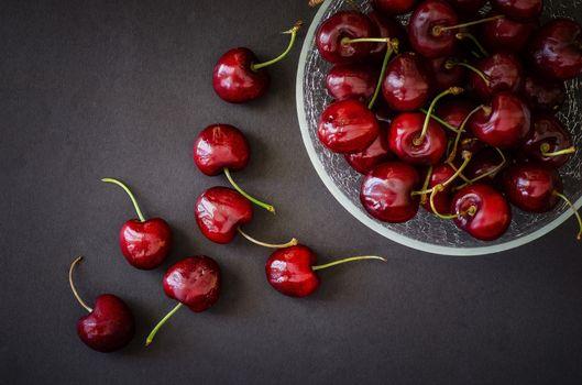 Фото бесплатно еда, вишня, ягода