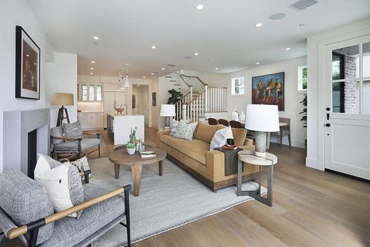 Photo free design living room, sofa, couch