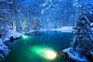 Фото бесплатно Швейцария, зима, озеро