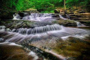 Фото бесплатно природа, Ricketts Glen State Park, Пенсильвания