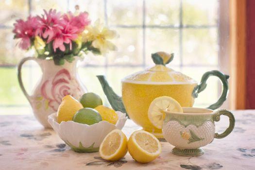 Photo free tea, flower, glass