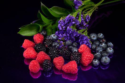 Фото бесплатно ягоды, витамины, черника