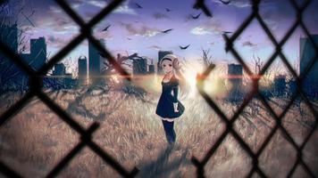 Фото бесплатно аниме девушки, аниме, рога