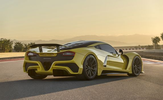 Photo free cars, yellow, Hennessey