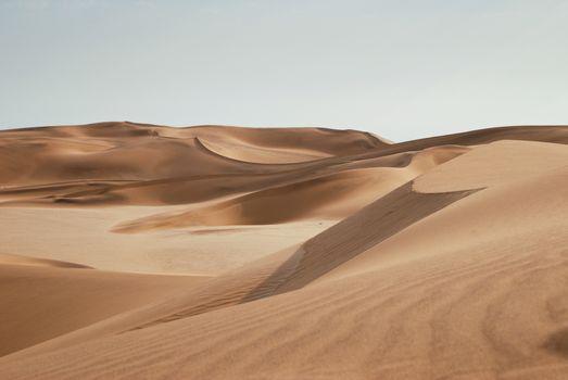 Фото бесплатно пустыня, чистое небо, песок
