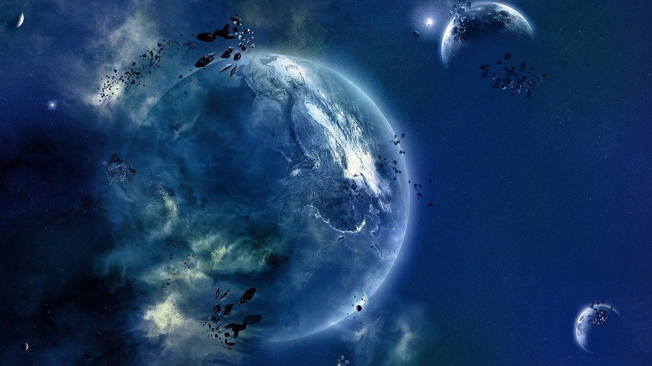 Фото атмосфера земли вселенная космос - бесплатные картинки на Fonwall