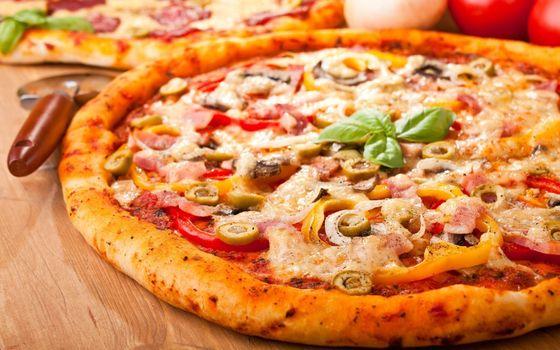 Фото бесплатно выпечка, фаст-фуд, пицца