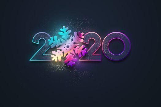 Фото бесплатно празднование, Happy New Year 2020