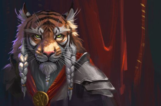 Photo free tiger warrior, fantasy, fiction