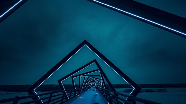 Заставки мост, архитектура, ночь