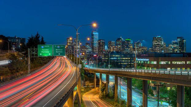 Photo free urban area, metropolitan area, skyline