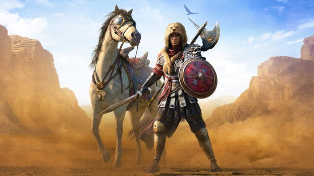Photo free Assassins Creed Origins, killers credo, games