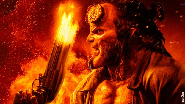 Фото бесплатно фильмы, постер, Hellboy