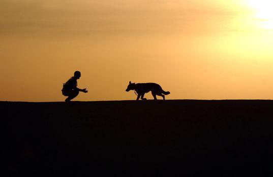 Photo free runs, landscape, horizon