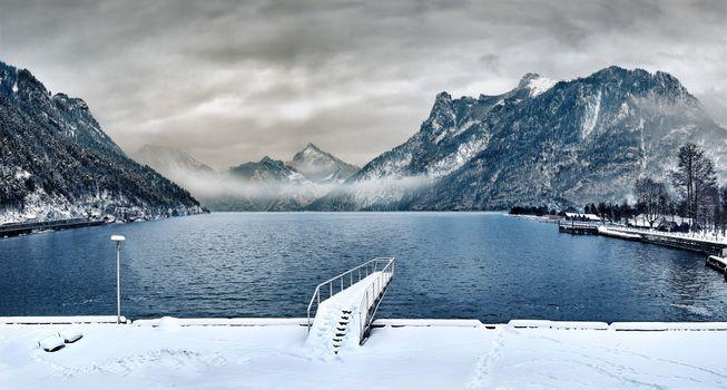 Фото бесплатно природа, вода, снег