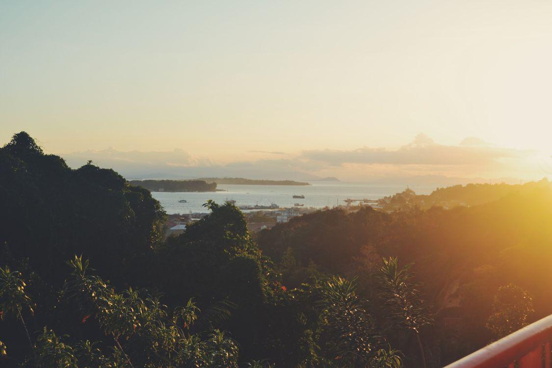 Фото солнечный свет рассвет океан - бесплатные картинки на Fonwall