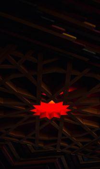 Бесплатные фото многоугольник,дизайн,красный,темно,polygon,design,red,dark