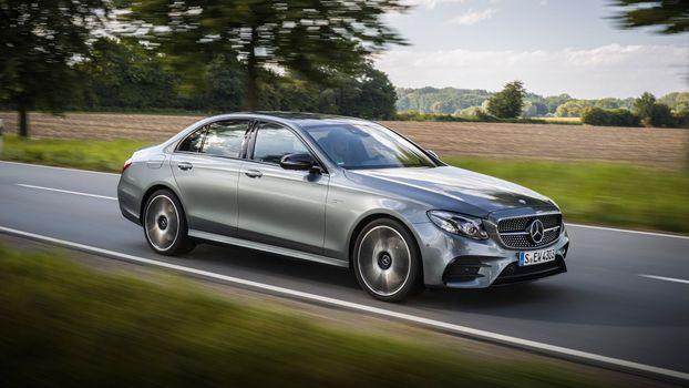 Заставки Mercedes AMG E43, дорога, автомобили