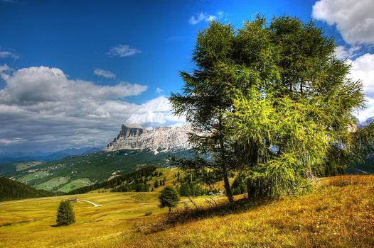 Photo free dolomite mountains, South Tyrol, Alpine vision
