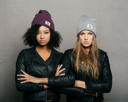 Photo free real girls, two girls, jacket