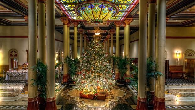 Фото бесплатно дерево, праздник, елка