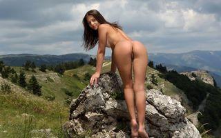 Бесплатные фото Милена d,вершина мира,гора,деа иштар,жопа,киска,половые губы