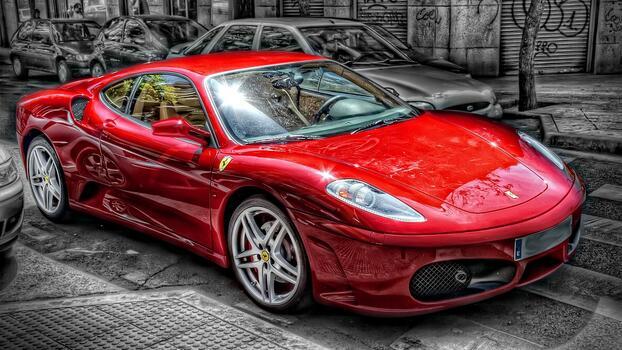 Photo free car, Ferrari 360, sports car