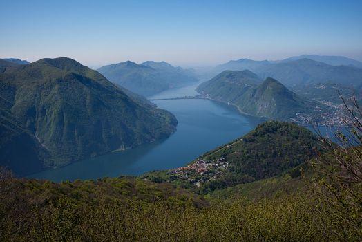 Фото бесплатно Монте-Сан-Сальваторе, Лугано, Швейцария