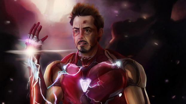 Фото бесплатно Iron Man, супергерои, Digital Art