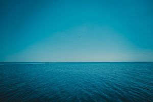 Photo free sea, horizon, sky